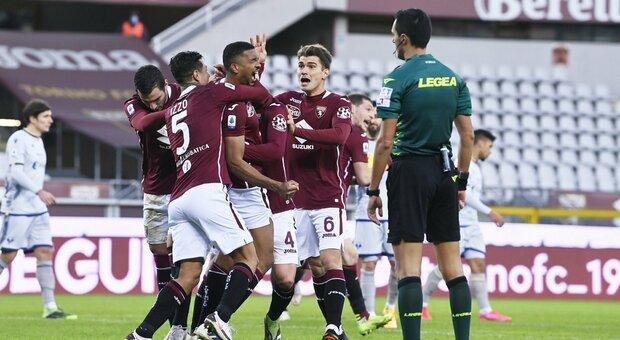 Bremer salva il Torino, 1-1 con il Verona