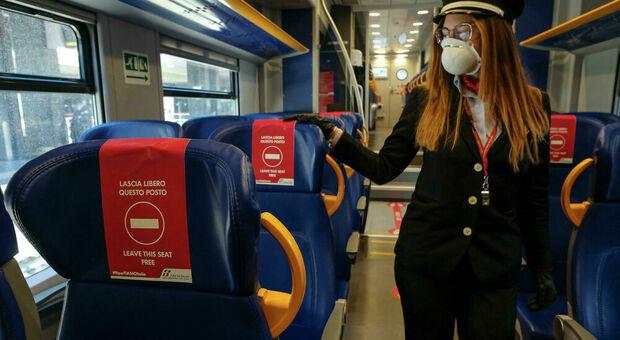 Covid, il Cts rinvia anche sui treni: resta il caos della capienza