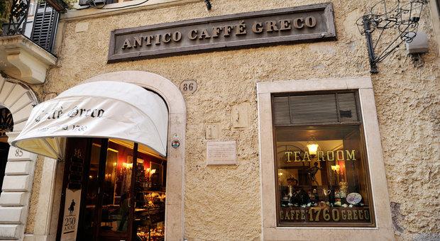 Caffè Greco, arriva lo sfratto: i nuovi gestori del bar-museo pagheranno 180mila euro al mese