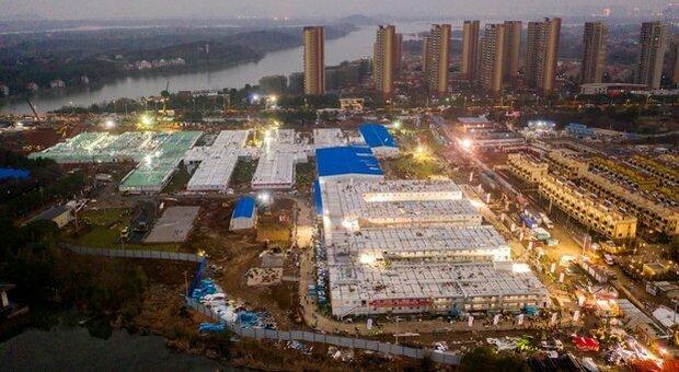 Covid, in Cina ospedale contruito in cinque giorni: è il primo dei sei previsti vicino Pechino
