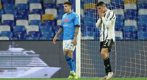 Il Napoli rinasce contro la Juventus: decide il rigore di Insigne. Gli azzurri resistono nella ripresa ed esultano con Gattuso