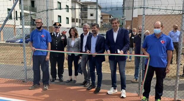 Ater, è stato inaugurato il parco sportivo Elettra Pollastrini a Campoloniano