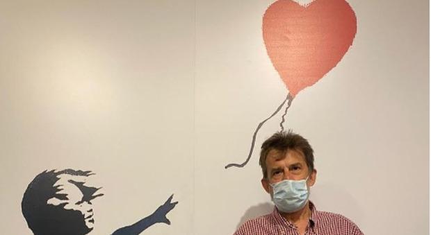 Nanni Moretti e il fascino di Banksy: ritratto con la Bambina e il palloncino rosso