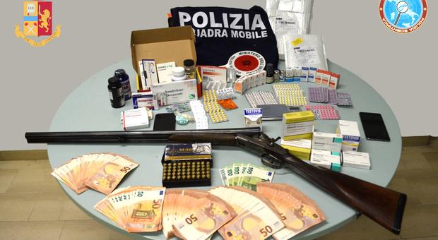 Due arresti e cinque denunce per spaccio e ricettazione di sostanze anabolizzanti