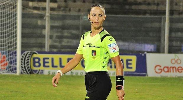 L'arbitra Veronica Vettorel