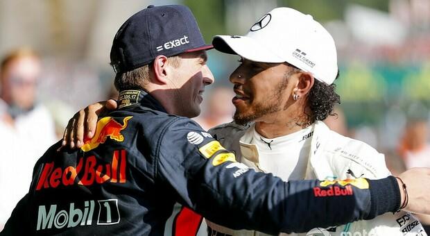 Max Verstappen e Lewis Hamilton, avversari ma non nemici