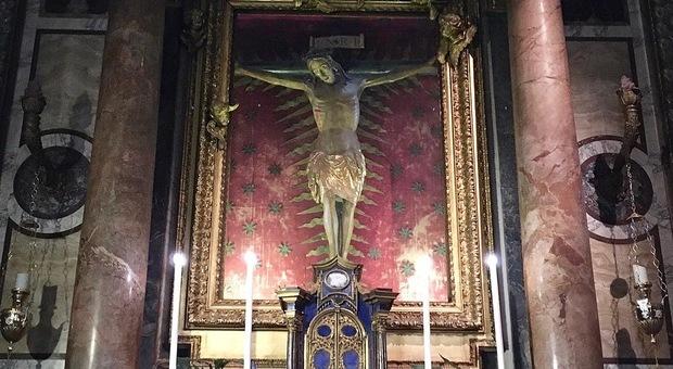 A Roma conservato il crocifisso miracoloso che fermò la peste nel 1600