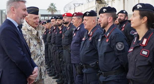 Difesa, Guerini ai militari italiani in Iraq: «L'Italia è con voi»