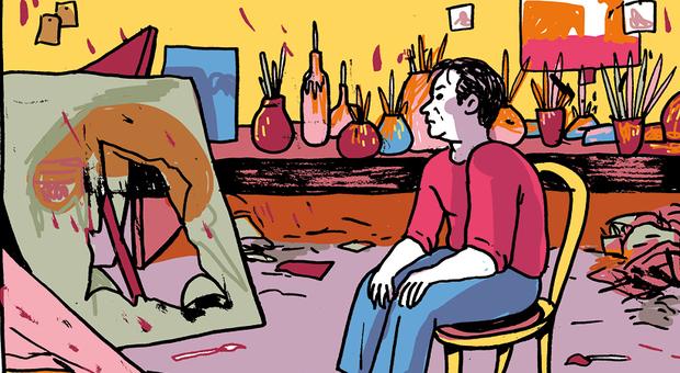 Gli abissi colorati di Francis Bacon: Cristina Portolano racconta l'arte a fumetti