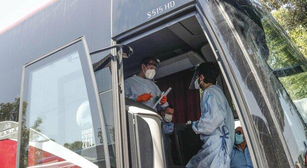 Covid, nessun positivo fra i passeggeri arrivati in bus dalla Romania a Tiburtina