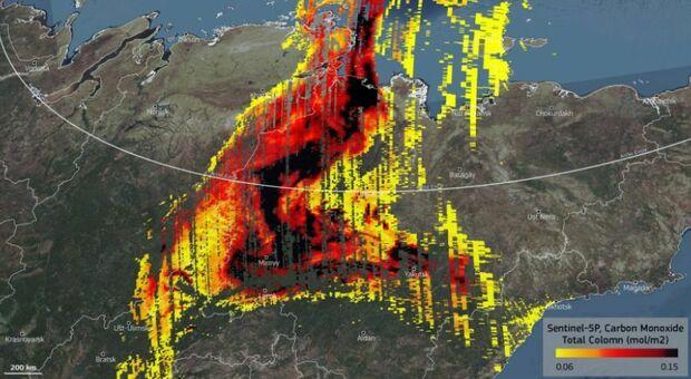 Incendi, in Siberia il più grande del mondo: equivale a tutti quelli del resto della Terra