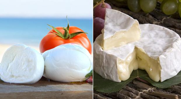 Francia, storico sorpasso della mozzarella italiana sul camembert, il successo in trasferta trainato dalla pizza
