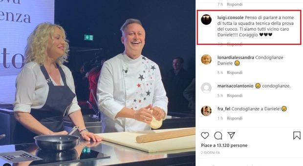 Antonella Clerici, morto il papà di chef Persegani: lutto alla Prova del Cuoco
