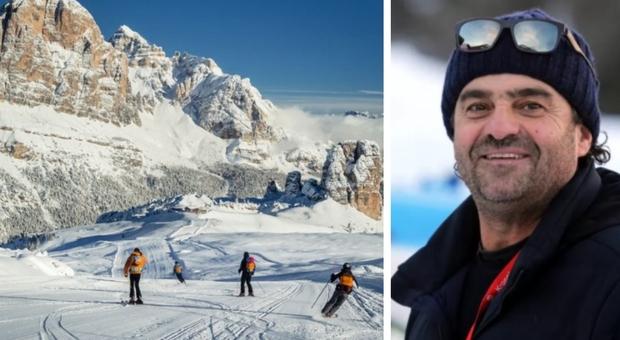 Vacanze sulla neve, da Tomba al sindaco di Cortina: «Non chiudete lo sci a Natale»