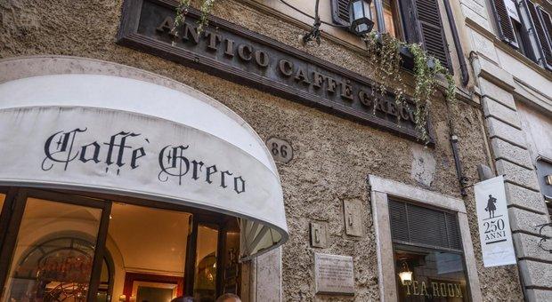 Commenti antisemiti sulla pagina del Caffè Greco, sdegno di FI, Italia Viva e Lega: «I gestori li cancellino»