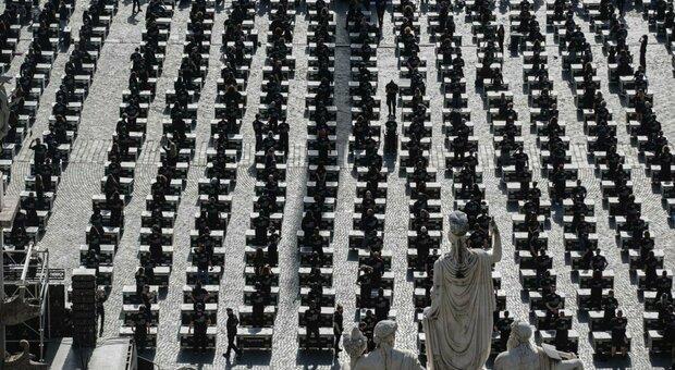 Roma, i Bauli diventano 1.000: in piazza del Popolo anche Gazzè, Mannoia, Silvestri, Emma e Amoroso