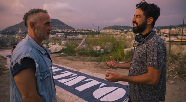 Aniello Arena con il regista Francesco Lettieri