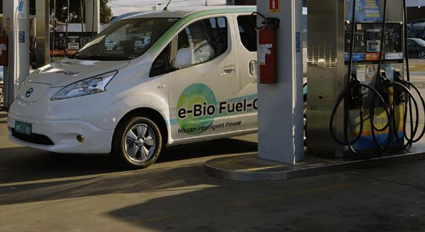 La Nissan e-Bio Fuel Cell