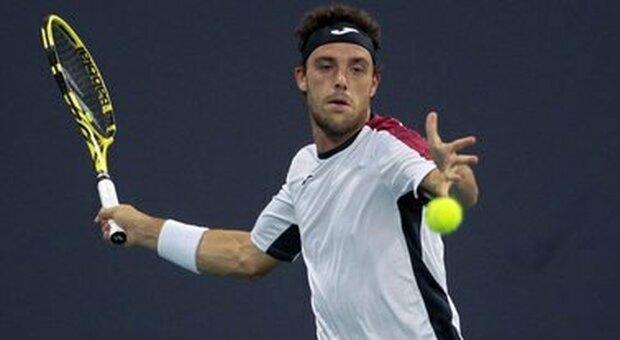 Sardegna Open, Marco Cecchinato eliminato da Hanfmann per 7-5, 6-1