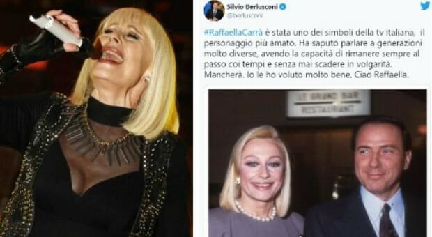 Raffaella Carrà, da Mattarella a Berlusconi: il video con i ricordi dal mondo della politica
