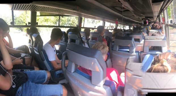 Un bus Cotral