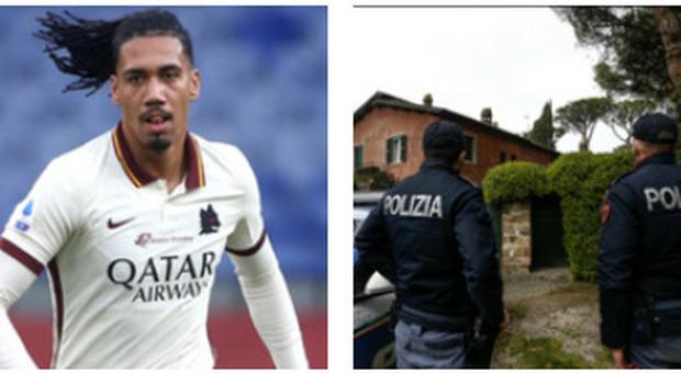 Smalling rapinato nella sua villa a Roma, il calciatore: «Mia moglie illesa, spero che i ladri trovino un modo migliore di vivere»