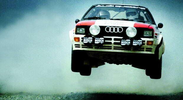 L'Audi Quattro di Hannu Mikkola