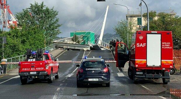 Spezia, crolla il ponte levatoio di una darsena. Nessun ferito