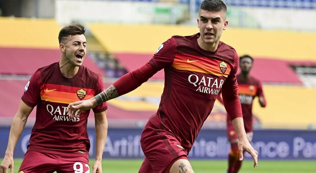 Roma-Genoa diretta 1-0 Mancini, elevazione da tre punti. Vittoria sofferta dei giallorossi