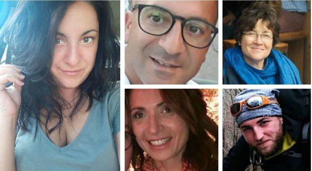 Raganello, le dieci vittime: dal soccorritore di Rigopiano alle amiche ballerine
