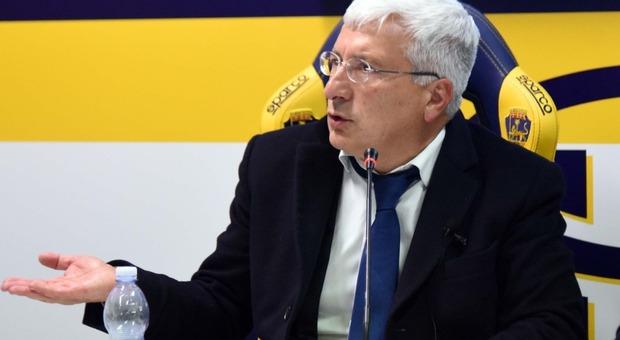 Il presidente Marco Romano