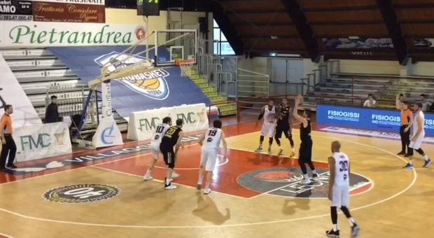 Eurobasket-Forlì all'andata