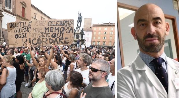 No-vax, Bassetti: «Bisogna indagare che dietro non ci siano organizzazioni sovversive»
