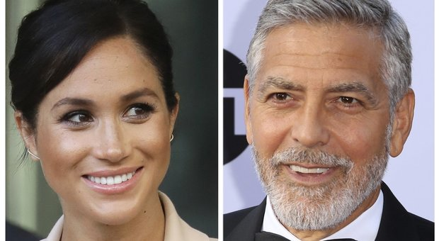 George Clooney: «Meghan Markle perseguitata come Lady Diana»