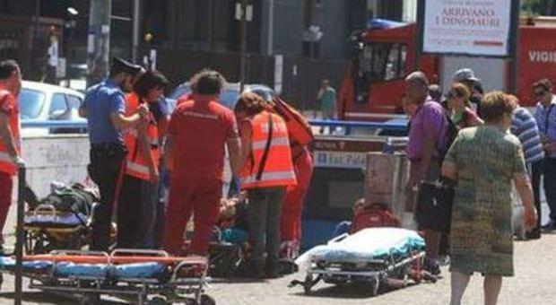Incidente metro B a Roma, tamponamento tra due treni: 21 feriti