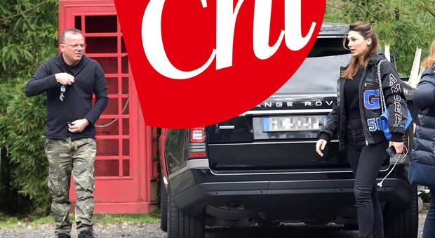 Gigi D'Alessio e Anna Tatangelo di nuovo insieme: compleanno in famiglia