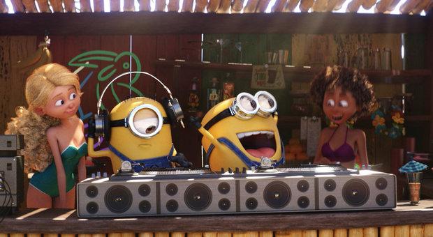Tornano i Minions: a Cinecittà World l'anteprima di Cattivissimo me 3
