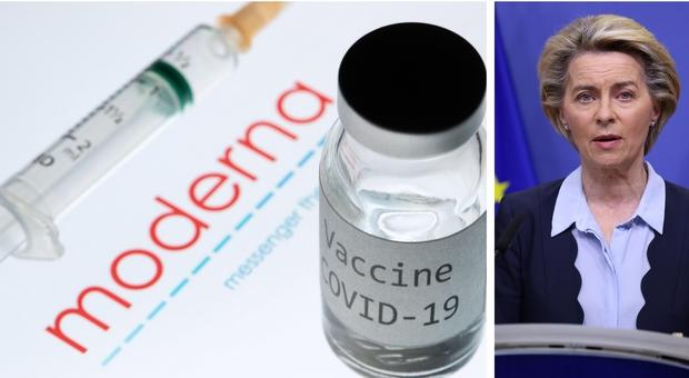 Vaccino Covid, annuncio di von der Leyen: «Domani firmiamo il contratto con Moderna per 160 milioni di dosi: verso fine pandemia»