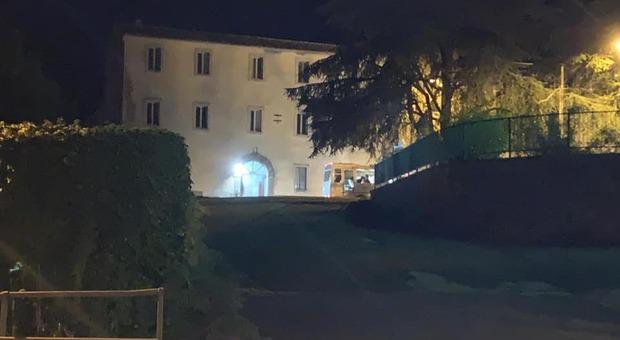 L'ex convento di Valentano adibito a Cas