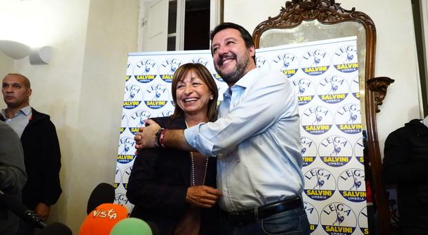 Regionali Umbria, la rivincita di Salvini: «Il Colle adesso rifletta, governo senza futuro»