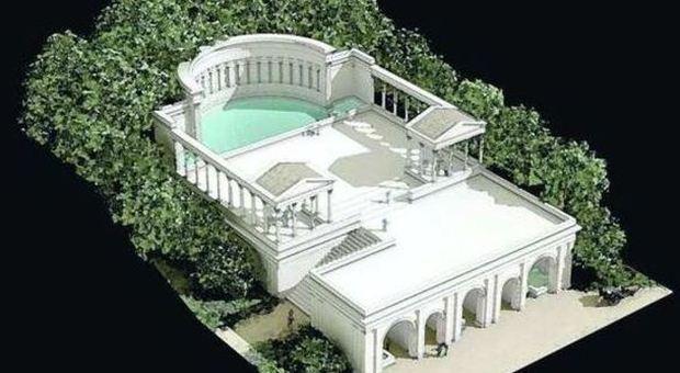 Nemi, riaffiora dal lago la reggia di Caligola: a pochi metri dal tempio di Diana