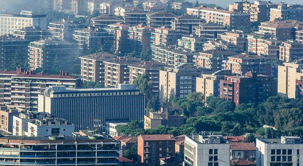 Una veduta di Perugia