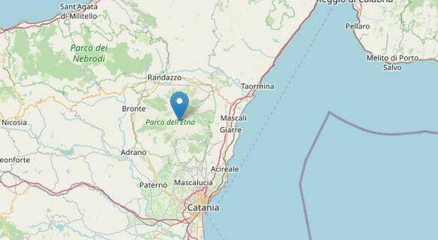 Terremoto a Catania nella zona dell'Etna, scossa di 3.6 a un chilometro di profondità