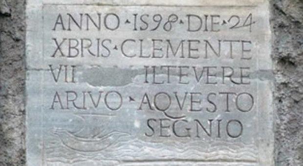 24 dicembre 1598 Il Tevere esonda: è la maggiore piena di sempre