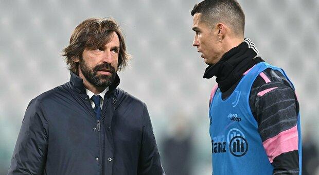 Serie A, Ronaldo salta il match con l'Atalanta: «Problema a un flessore». Pirlo punta su Dybala