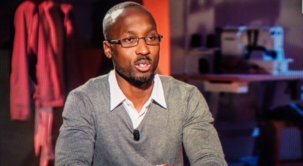 "Rudy Guede nella trasmissione ""Storie maledette"""