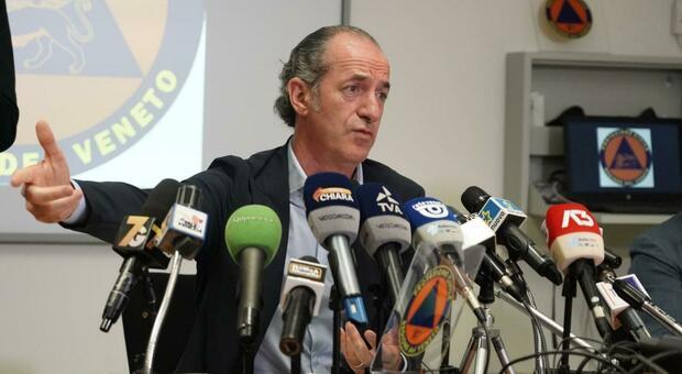Covid, Zaia: «Veneto, al via il nuovo piano di salute pubblica: 1.000 posti in terapia intensiva»