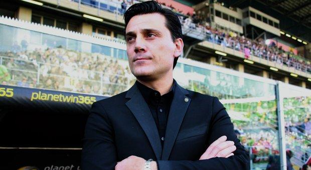 Milan, Montella: «Noi da Champions? Dobbiamo avere sempre la fame di Lapadula»