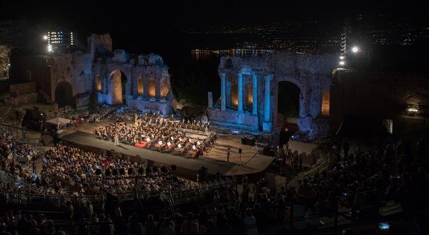 Il Teatro Antico di Taormina (foto di Giampiero Caminiti)