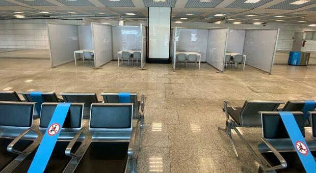 Virus, a Fiumicino e Ciampino pronti i box per i test a chi arriva da Croazia, Grecia, Malta e Spagna
